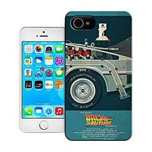 Unique Phone Case Exquisite art pattern DeLorean Time Machine Hard Cover for 4.7 inches iPhone 6 cases-buythecase wangjiang maoyi