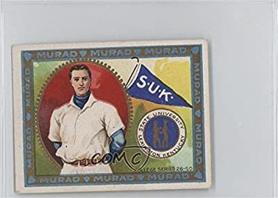 State University of Kentucky COMC REVIEWED Poor to Fair (Trading Card) 1910 Murad Cigarettes College Series - T51 - 2nd Edition #37