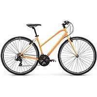 Raleigh Bikes Alysa 1 Women's Fitness Hybrid Bike (Orange) (Large)