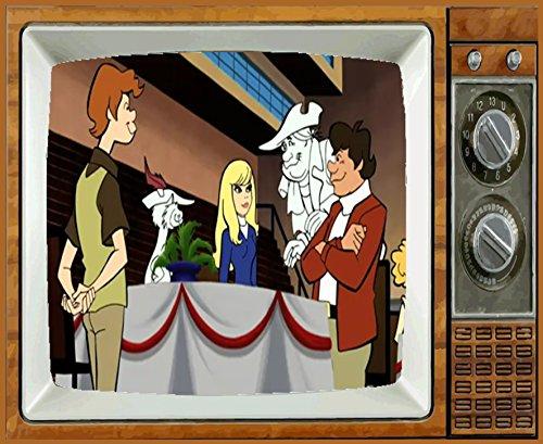 FUNKY PHANTOM TV Fridge MAGNET 2