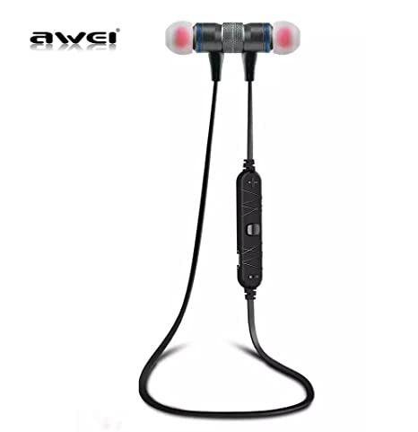f596aa6c296 AWEI A920BL Bluetooth Wireless Sport Exercise Stereo Noise Reduction Earbuds  Build-in Microphone Earphone For