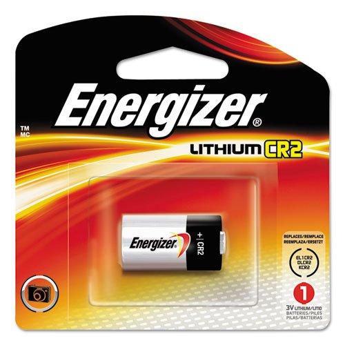 Lithium Photo Battery, CR2, 3V, 1 Battery/Pack ()