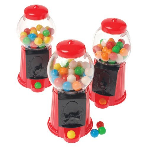 US Toy Company Mini Gumball Machines (2 Packs Of 12) -