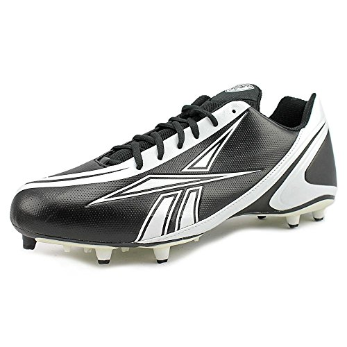 Black White 5 Reebok Football NFL Burner M Low Men's 12 Cleat Speed Fv8Zgv0xn