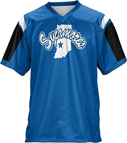 Men's Indiana State University Thunderstorm Football Fan Jersey - Shopping Indiana Haute Terre