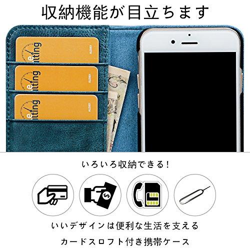 a2173168c0 iphone8 ケース 手帳型 本革 VISOUL アイフォン7ケース 本革 iphone7 ...