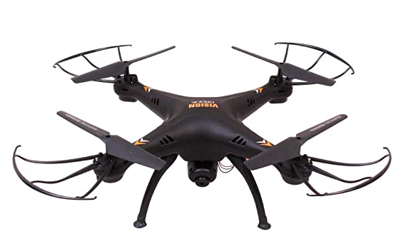 SR Enterprises Best Vision Drone with WiFi Camera 2 MP, with USB Charger and Remote Controller (Black)