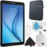 Samsung Galaxy Tab E T560 9.6 Inch, 16GB Tablet (Black, SM-T560NZKUXAR) Bundle with 1 Year Extended Warranty, Case + More