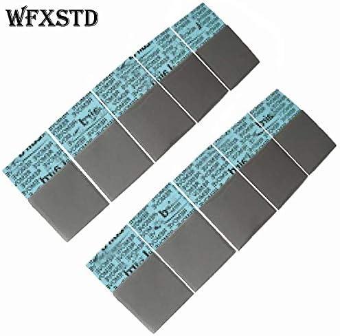 Rarido WFXSTD 1mm Silicon GPU Thermal Pad for Laird Notebook Graphics Memory Beiqiao CPU GPU Thermal Silica pad flex740 Conductive Pad Blade Quantity: 50 Pcs