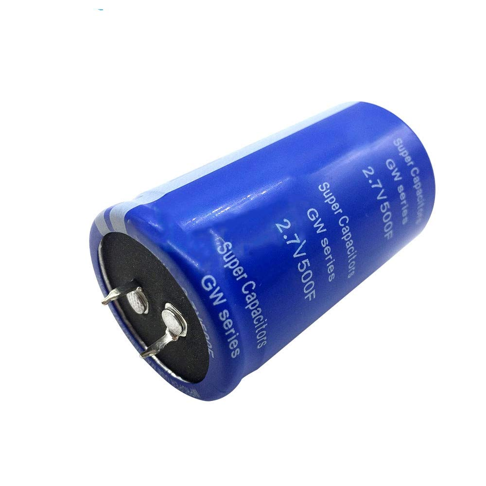 6PCS Super Capacitor 2.7V 500F 60 35mm Suitable for Automotive Rectifiers Super Farad Condenser