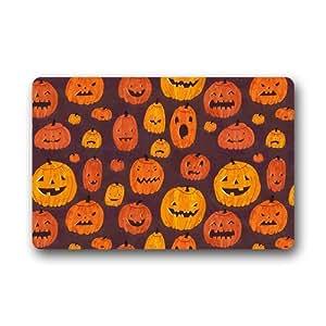 CozyBath Halloween tela no tejida 23,6(L) X 15,7(W) máquina para uso en interior/exterior/ducha/baño Felpudo