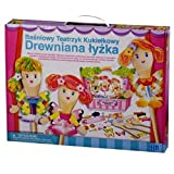 Great Gizmos Wooden Spoon Fairy Puppet Theatre