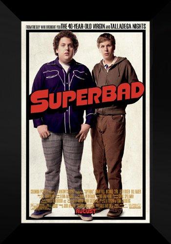(Superbad FRAMED Movie Poster: Seth Rogan & Jonah Hill)