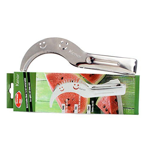 Watermelon slicer kenor watermelon knife fruit slicer for Kitchen pro smart cutter