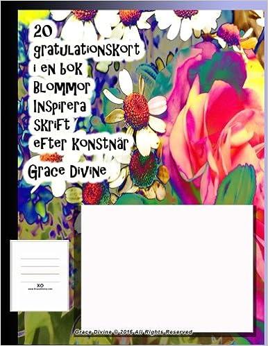 gratulationskort online Buy 20 Gratulationskort I En Bok Blommor Inspirera Skrift Efter  gratulationskort online
