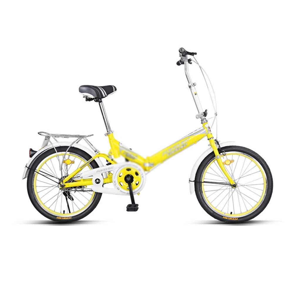 promocionales de incentivo DT Bicicleta Plegable Bicicleta Adulto Portátil Masculino y Femenino 16 16 16 Pulgadas Ligero y Compacto Fácil de Plegar Envíe un paño a Juego Azul uno  compras online de deportes