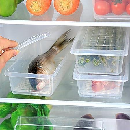 La Cocina Verduras pescado con caja rectangular caja de ...
