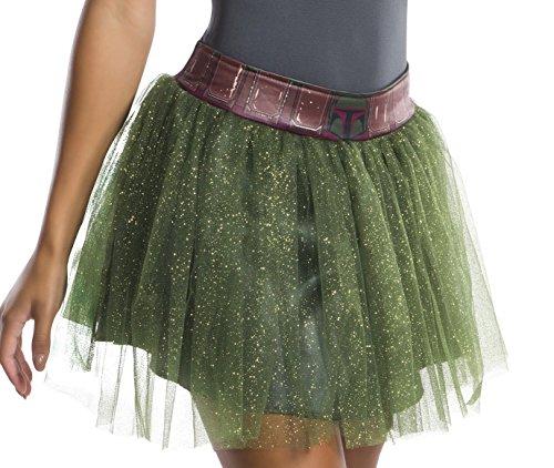 Rubie's Adult Star Wars Boba Fett Costume Tutu Skirt]()