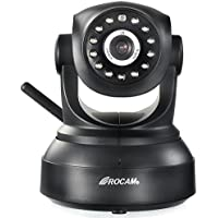 ROCAM 1080P FULL HD Home Security Wireless WiFi IP Camera, Talkback, Nightvision, Alarm Push Notification
