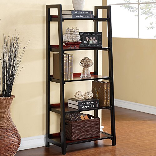 Linon Camden Five Shelf Bookcase