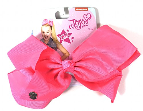 JoJo Siwa Signature Collection Hair Bow NEON - Little Hot Springs Creek Hot