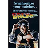(11x17) Back to the Future II Syncronize Your Watches Movie Poster