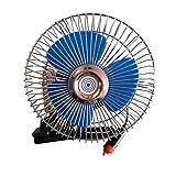 6 12 volt fan - ALEKO CFD01 6 Inch 60 Strips Full-Seal 12V Clip-on Car Fan