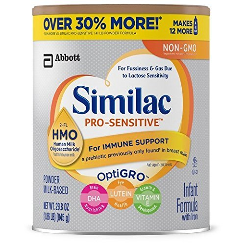 Similac pro-sensitive infant formula 2-FL HMO for immune ...