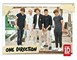 One Direction trading card #88 Louis Tomlinson, Niall Horan, Liam Payne, Zayn Malik, Harry Styles