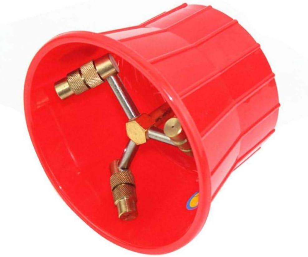 El pulverizador agrícola Cabezal atomizador de pulverización de la Boquilla de Alta presión de riego del jardín Spray Herramienta de Control de plagas Pistola Jardín