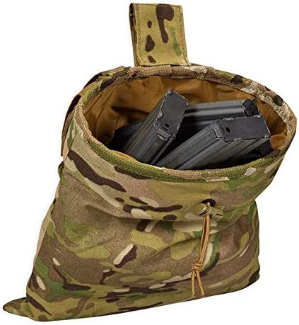 Chase Tactical Roll-Up Mag Dump Pouch – Large Capacity for Spent Mags – MOLLE for Attachments, Velcro Tab – for Military, Law Enforcement, Medical, Combat Training – Unisex 51UIh6uMa6L
