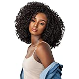 Sensationnel Synthetic Hair Half Wig Instant Weave Curls Kinks & Co Rule Breaker (T1B/30)