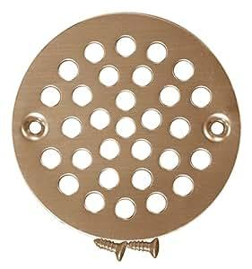 PlumBest Stamped Decorative Finish Shower Drain Strainer
