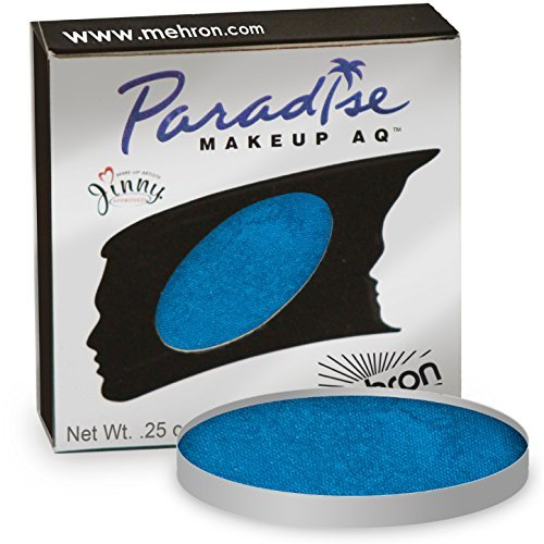 Mehron Makeup Paradise AQ Face and Body Paint, DARK BLUE: Basic Series Refill- 7gm