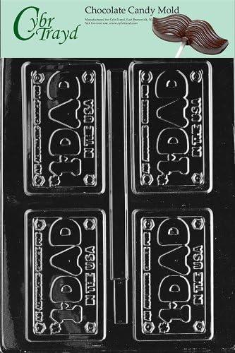 Cybrtrayd K140 Cool Cars Kids Chocolate Candy Mold