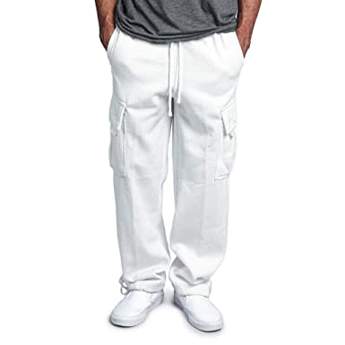 Overdose Pantalones De Hombre Overol De Empalme Casual Pocket ...