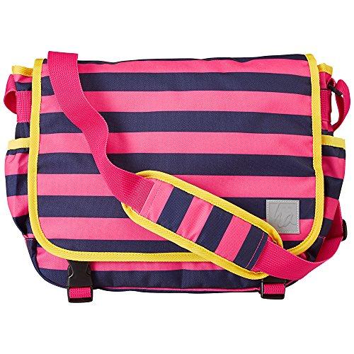Hanna Andersson Girls Messenger Bag, Pink/Navy