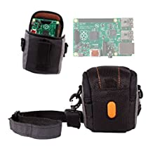DURAGADGET Padded Protective Lightweight Case For Raspberry Pi Model B+