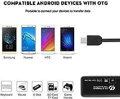Eletrand Lector de Tarjetas Micro USB OTG, Lector de Tarjetas SD ...