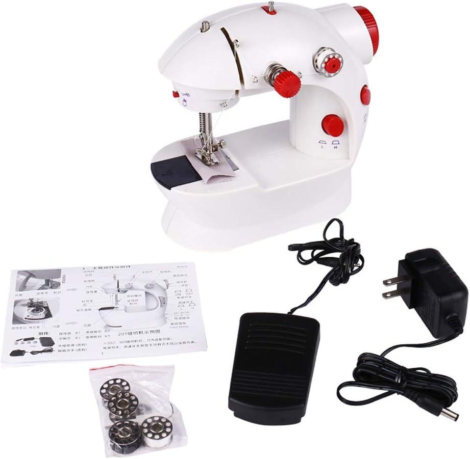 Máquina de coser pequeña mini máquina de coser Envío de accesorios ...