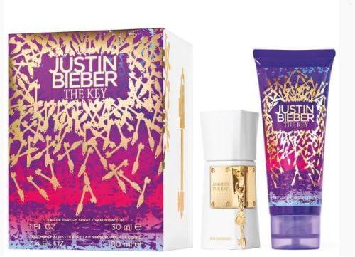 Justin Bieber The Key Set (Eau de Parfum, Crema per il Corpo, Gratis suoneria) 1er Pack