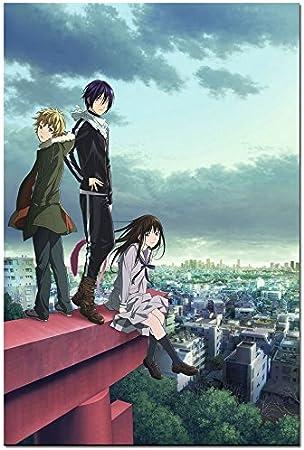 Morrow Sunny Noragami Yato Hot Japan Anime Art Silk Poster Print 61 X 91 4 Cm 007 Küche Haushalt
