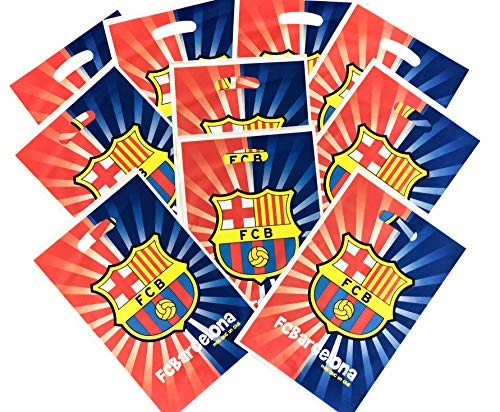 FC Barcelona Birthday Party Favor Bags - bag of 10
