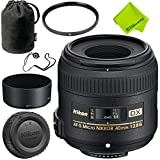 Nikon AF-S DX Micro-NIKKOR 40mm f/2.8G Lens Base Bundle