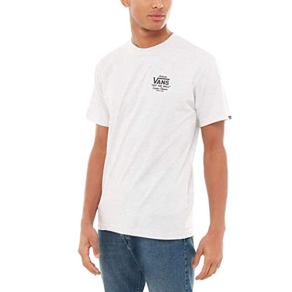 4cb082928f Vans Holder St Classic Short Sleeve T-Shirt X Large Ash Heather  Amazon.fr   Vêtements et accessoires