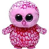 TY 7136994 - Pinky Buddy - Schleiereule, Beanie Boos, Large, 24 cm, pink