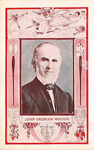 John Greenleaf Whittier Published his first poem