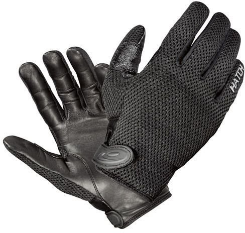 Hatch CT250 Cooltac  Police Duty Glove, Black, Large by Hatch