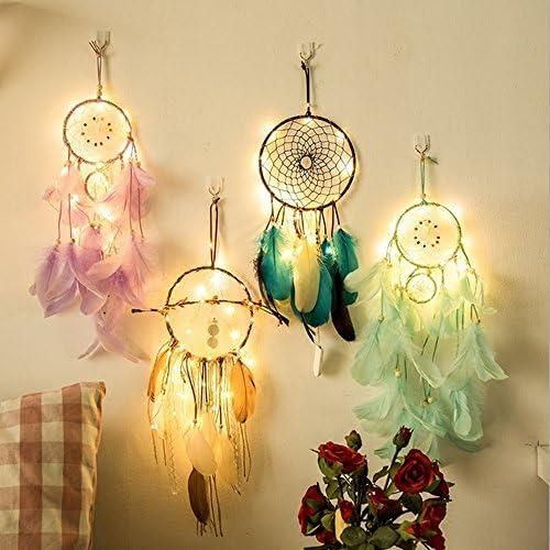 JiaMeng Dreamcatcher 20 LED Lighting Room Dormitorio Romántico ...
