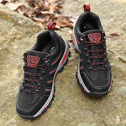 BomKinta Mens Hiking Shoes Anti-Slip Lightweight Breathable Quick-Dry Trekking Shoes for Men